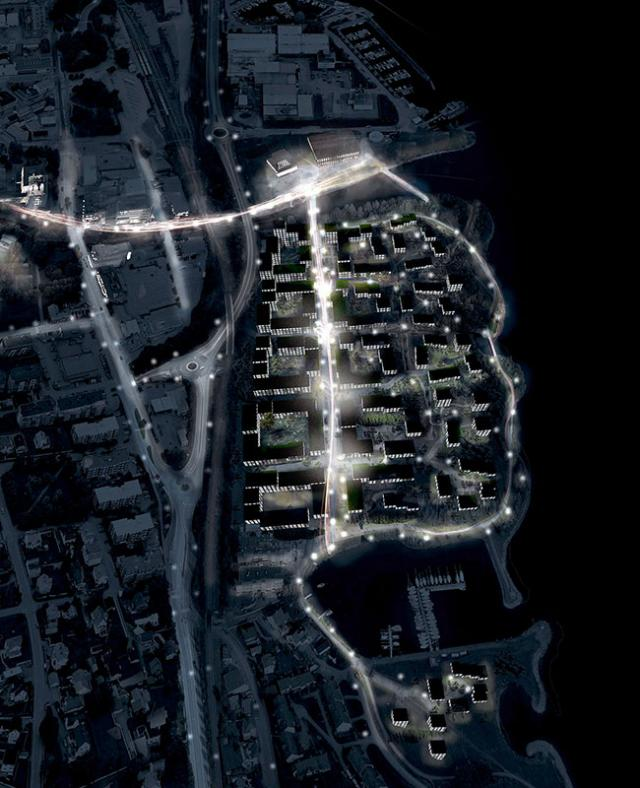 Image of Huntonstranda masterplan