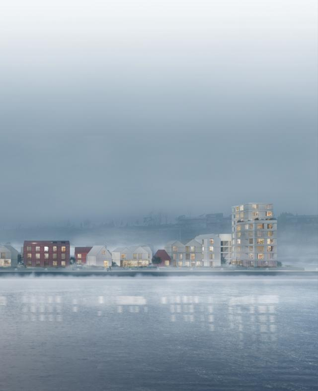Image of Smietangen housing and centre for coastal culture
